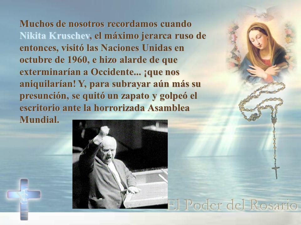 Desde hoy comienza la Campaña Nacional del rezo del Rosario