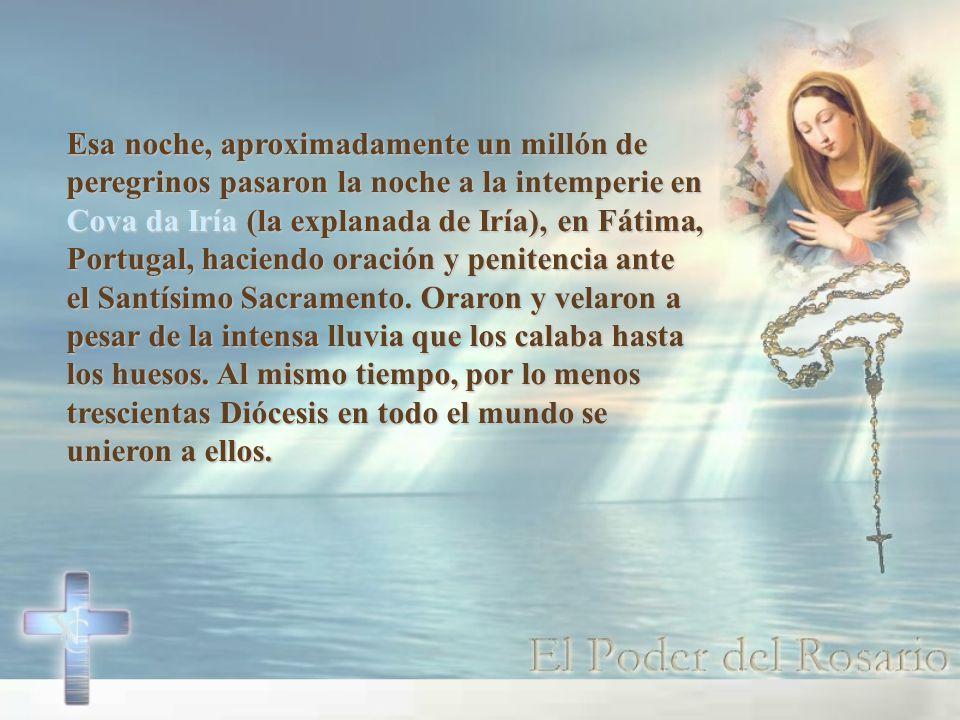con la certeza de que así la Santísima Virgen María nos ayudará a salir con bien de las actuales dificultades.