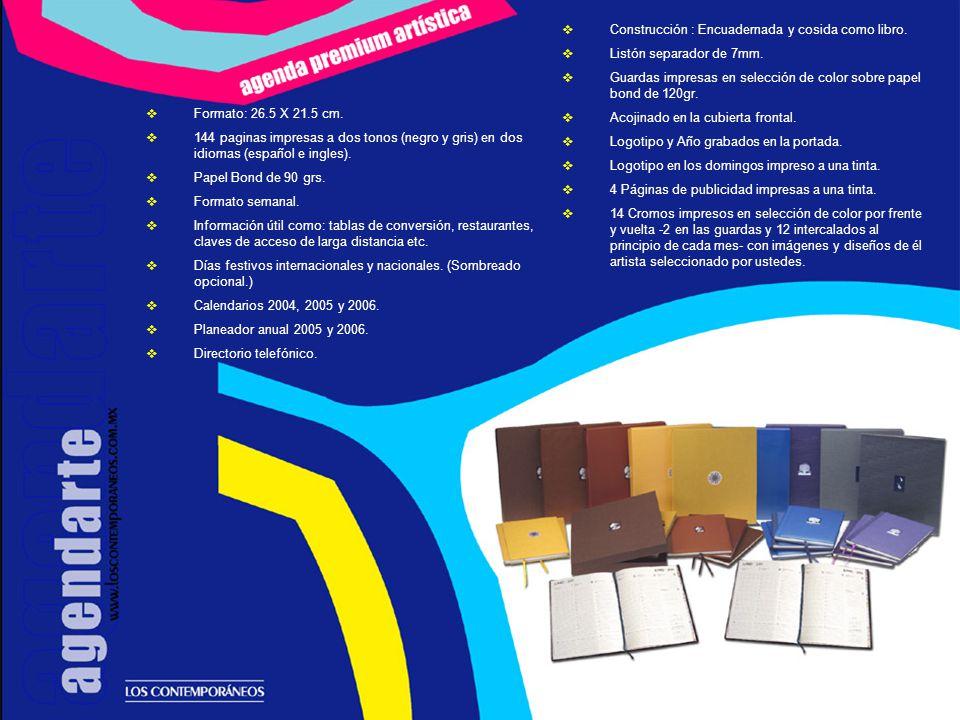 ESTUCHE PARA AGENDA, OBRA GRÁFICA Y ESCULTURA ( ARTE OBJETO ) Caja elaborada en cartón rígido grueso, forrada por el interior y el exterior con cartulinas y telas especiales.