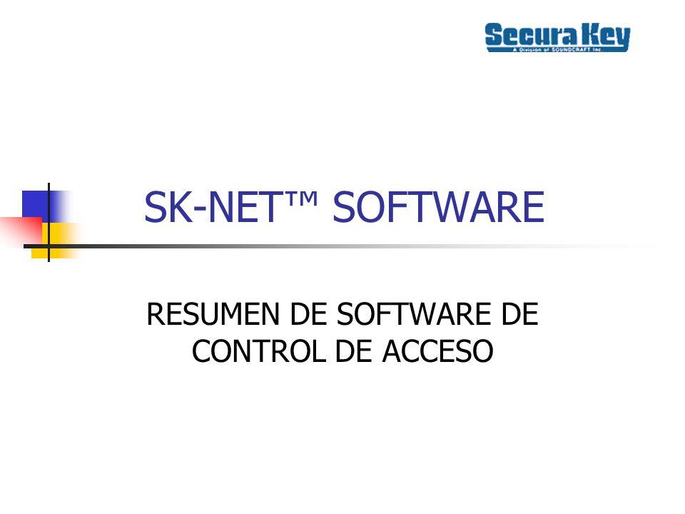 SK-NET SOFTWARE Se usa con el SK- ACP y el 28SA-PLUS Compatible con Windows 95, 98, 2000, ME y NT4.0 Especificación de PC: 200MHz,96 MB RAM, 100MB Disco Duro