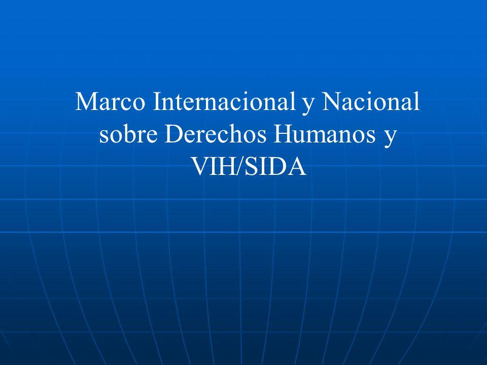 Violaciones a los derechos humanos en el contexto del VIH/SIDA