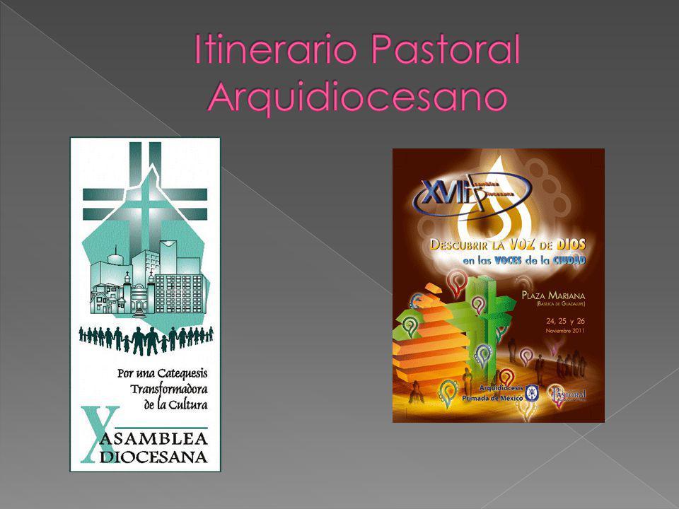 Para la siguiente asamblea diocesana, la segunda, quise plantear una consulta, y la consiguiente reflexión, sobre la formación de agentes laicos para acciones específicas.
