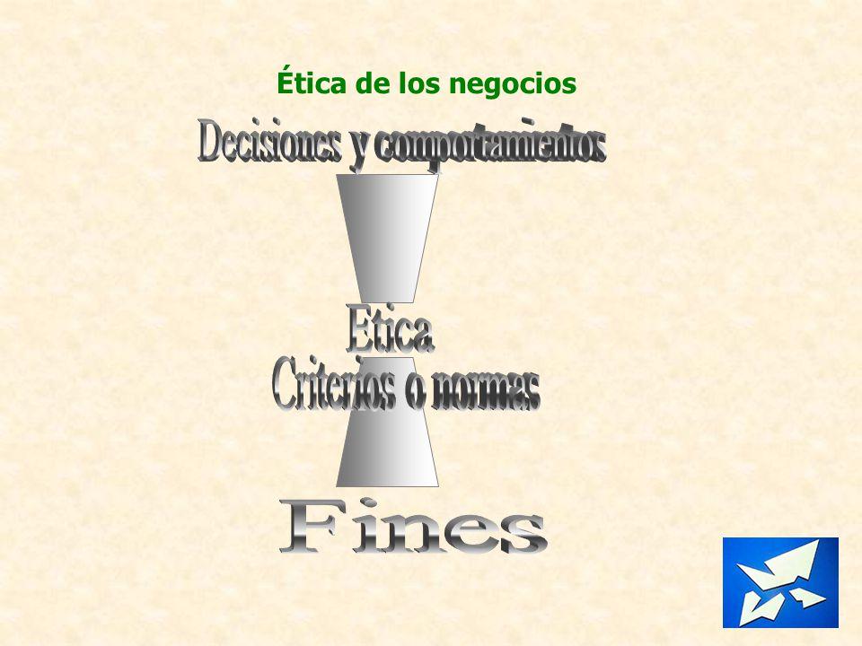 Ética de los negocios