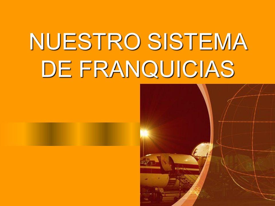 NUESTRO SISTEMA DE FRANQUICIAS