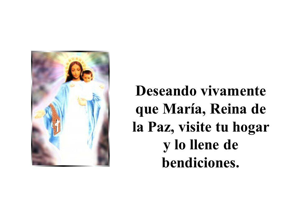 Dios te salve, María, llena eres de gracia, el Señor es contigo...
