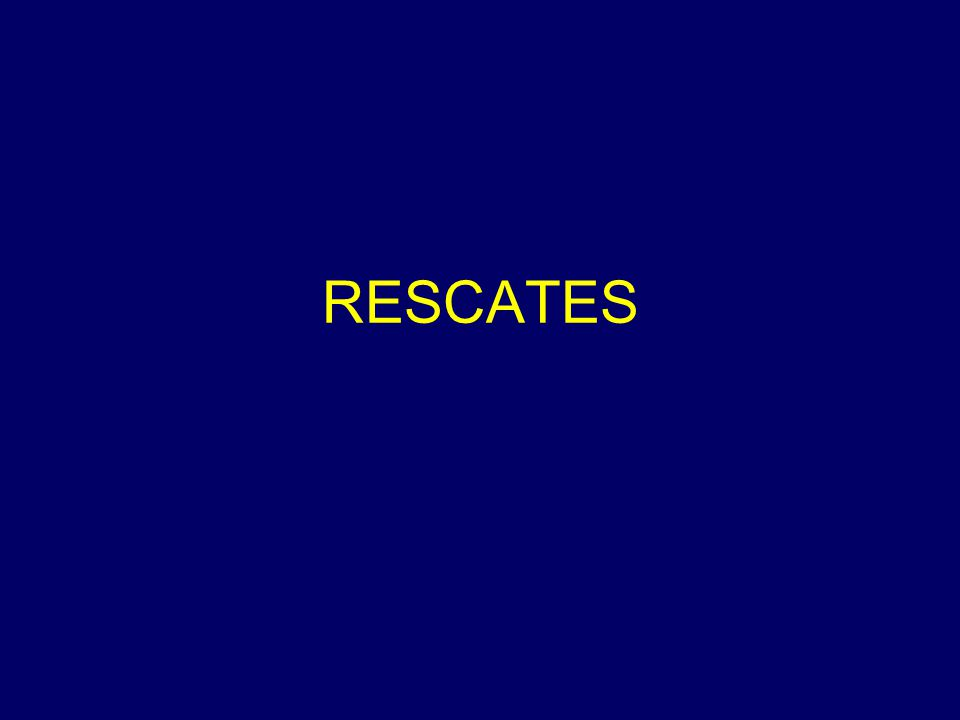 RESCATES