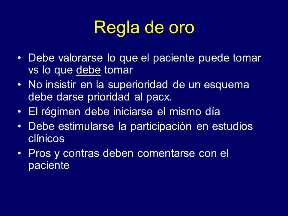 Objetivos del tratamiento Eficacia: Supresión de CV máxima y duradera.