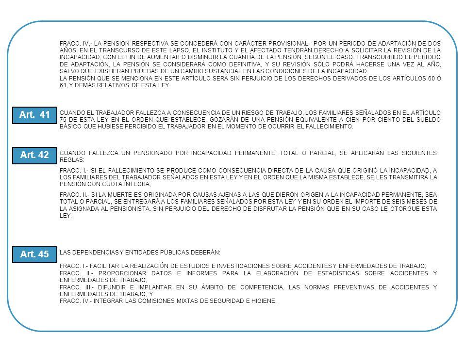 SOLICITUD SUSCRITA POR EL INTERESADO (A) FORMA ESPECIAL DEL ISSSTE HOJA ÚNICA DE SERVICIOS QUE CONTENGA LA FECHA DE BAJA COPIA CERTIFICADA DE ACTA DE NACIMIENTO COPIA CERTIFICADA DE ACTA DE MATRIMONIO AVERIGUACIONES PREVIAS DEL AGENTE DEL MINISTERIO PÚBLICO REPORTE DE LA POLICÍA FEDERAL DE CAMINOS INFORME DEL ACCIDENTE PERSONAL CONSTANCIA DE SERVICIOS CON HORARIO DE TRABAJO ACTA ADMINISTRATIVA LEVANTADA Y SUSCRITA POR LA AUTORIDAD INMEDIATA SUPERIOR Y DOS TESTIGOS OFICIO DE COMISIÓN SINDICAL O DE SU DEPENDENCIA DE ADSCRIPCIÓN FOTOCOPIA DEL TALÓN (ES) DEL CHEQUE (S) DEL ÚLTIMO COBRO SOLICITUD DE RADICACIÓN DE PAGO FOTOCOPIA DE LAS CREDENCIALES DE LA SEP Y DEL ISSSTE DOS FOTOGRAFÍAS TAMAÑO INFANTIL DE C/U DE LOS INTERESADOS REQUISITOS