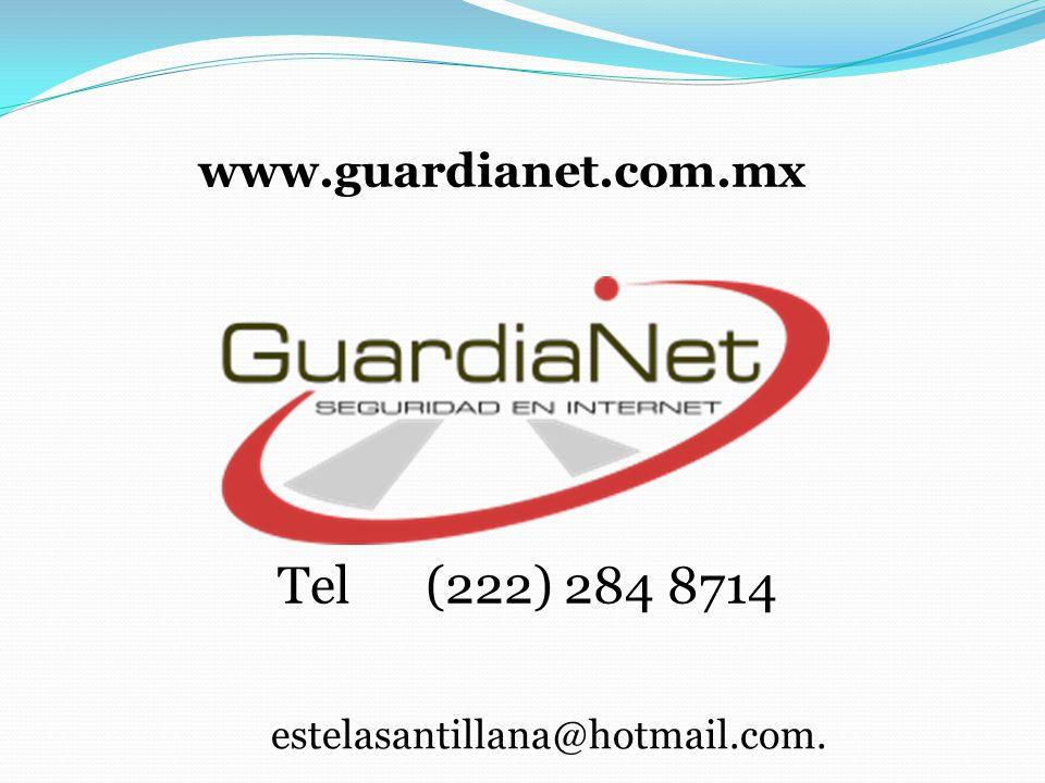 estelasantillana@hotmail.com. Tel (222) 284 8714 www.guardianet.com.mx