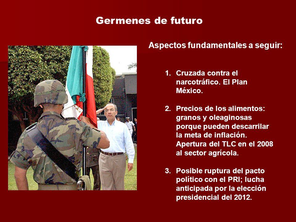 1.Cruzada contra el narcotráfico. El Plan México.