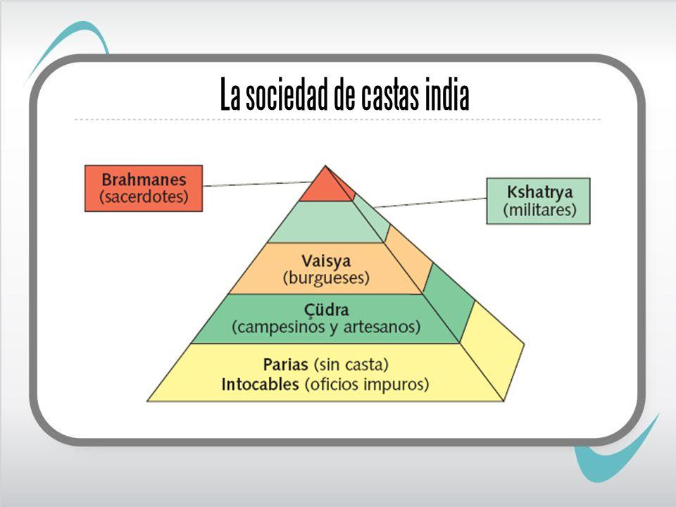 La sociedad de castas india