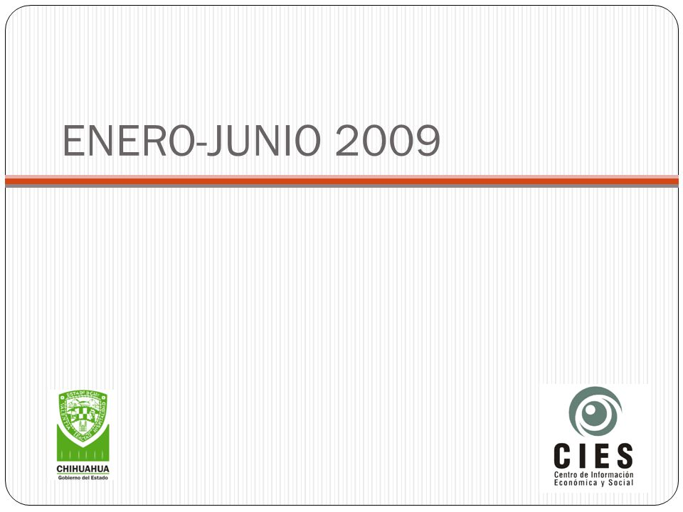 ENERO-JUNIO 2009