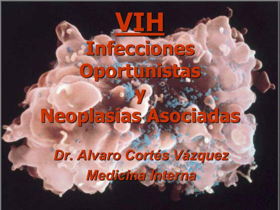 VIH Infecciones Oportunistas y Neoplasias Asociadas Dr. Alvaro Cortés Vázquez Medicina Interna