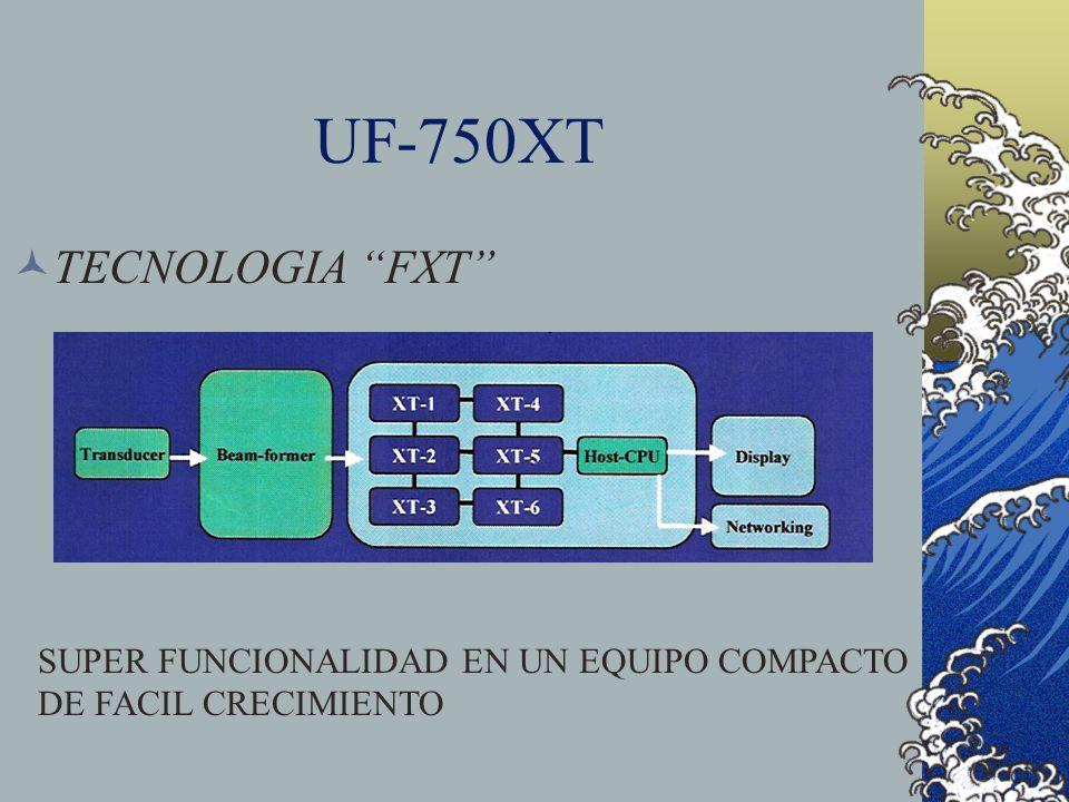 UF-750XT TECNOLOGIA FXT SUPER FUNCIONALIDAD EN UN EQUIPO COMPACTO DE FACIL CRECIMIENTO