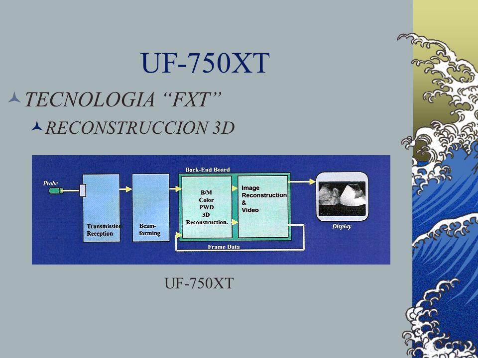 UF-750XT TECNOLOGIA FXT RECONSTRUCCION 3D UF-750XT