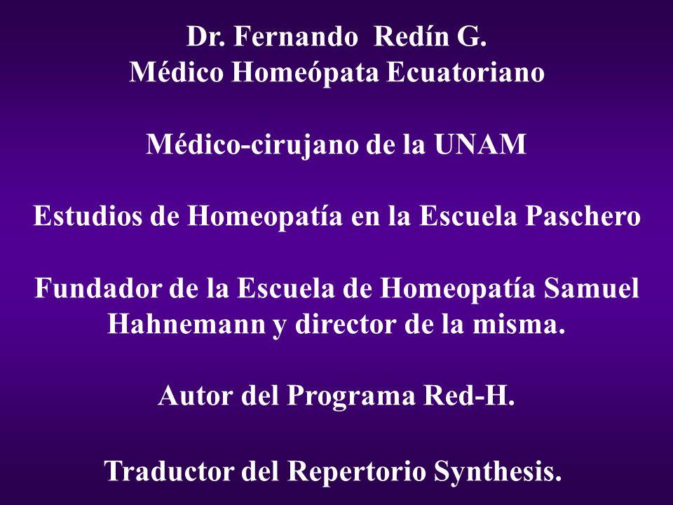 Dr.Fernando Redín G.