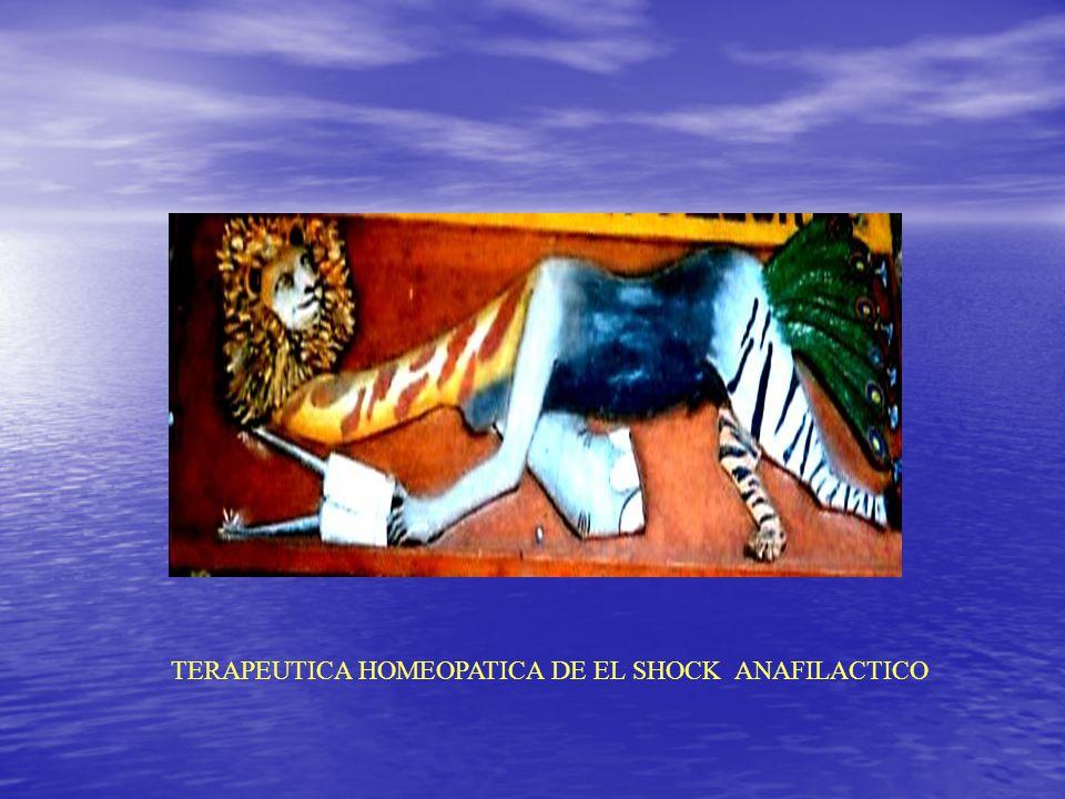 TERAPEUTICA HOMEOPATICA DE EL SHOCK ANAFILACTICO