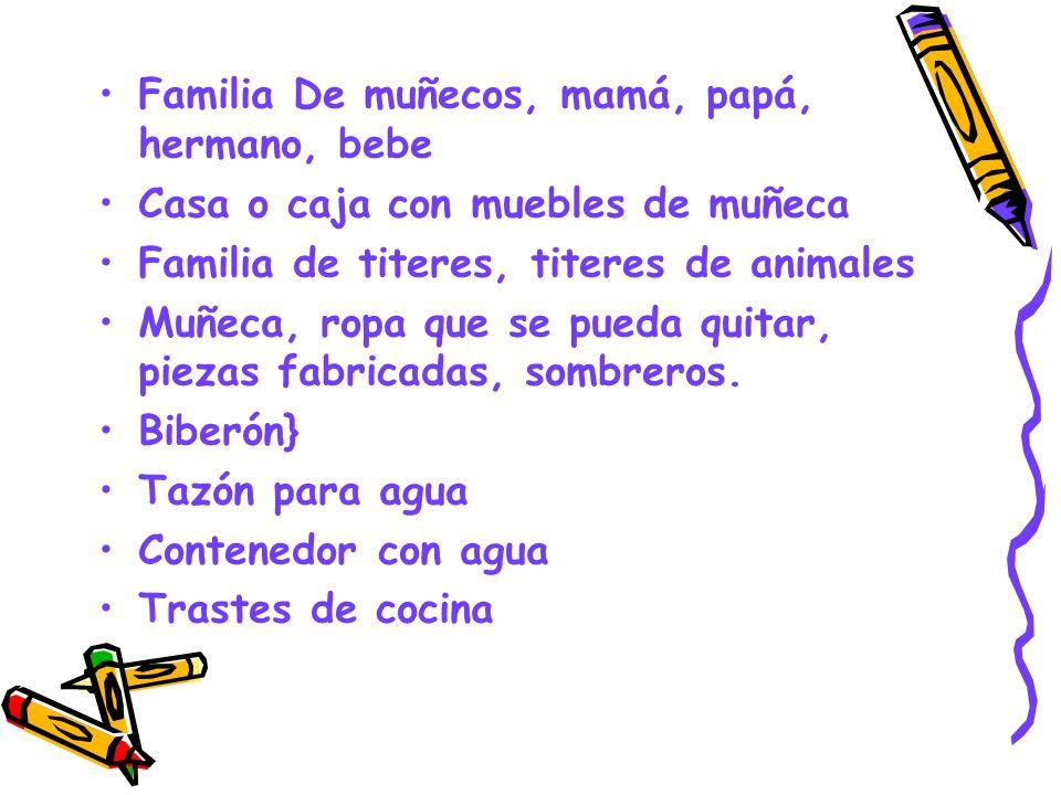 Familia De muñecos, mamá, papá, hermano, bebe Casa o caja con muebles de muñeca Familia de titeres, titeres de animales Muñeca, ropa que se pueda quit