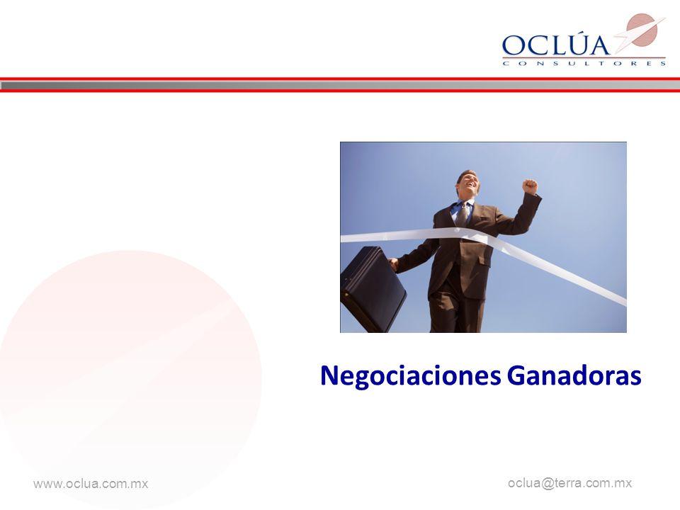 www.oclua.com.mx oclua@terra.com.mx Negociaciones Ganadoras