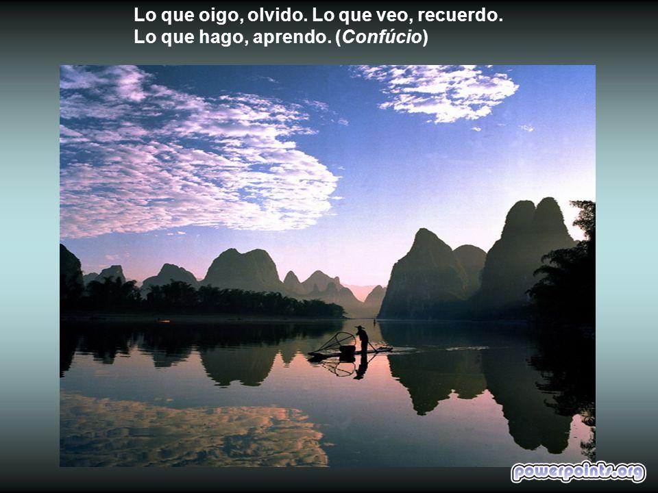 El sabio no se exhibe y es notado. Renuncia a si mismo y jamás es olvidado. (Lao-Tsé)