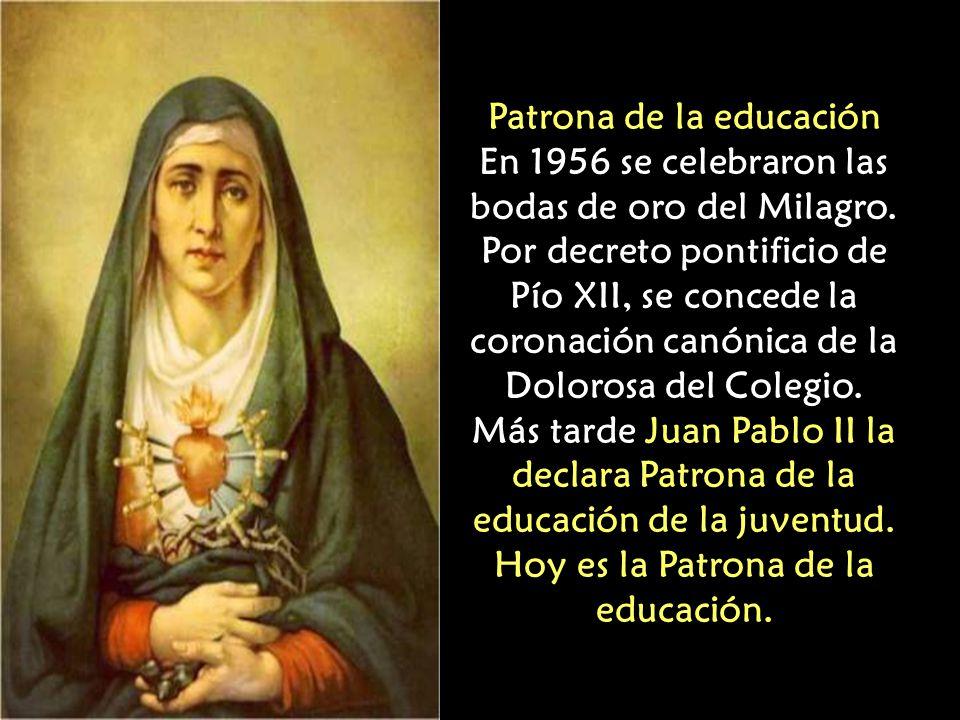 Efectos del prodigio La fe del Ecuador se iluminaba de nuevo y renacía el entusiasmo por mantener y defender la educación cristiana de la niñez y juve