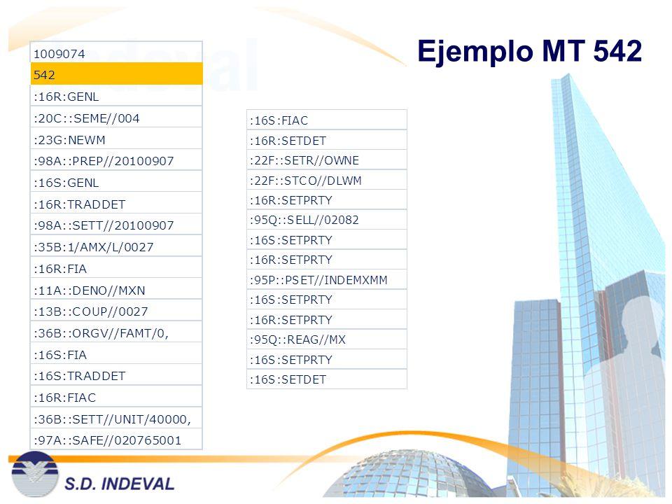 Ejemplo MT 542