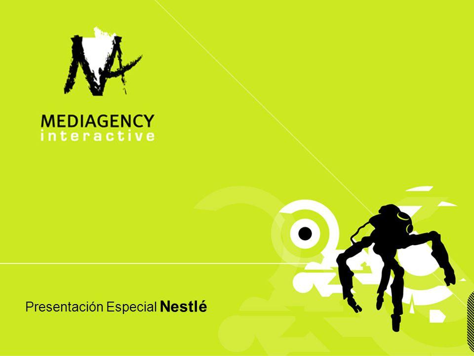 Presentación confidencial prohibido su uso sin autorización de Mediagency® Presentación Especial Nestlé