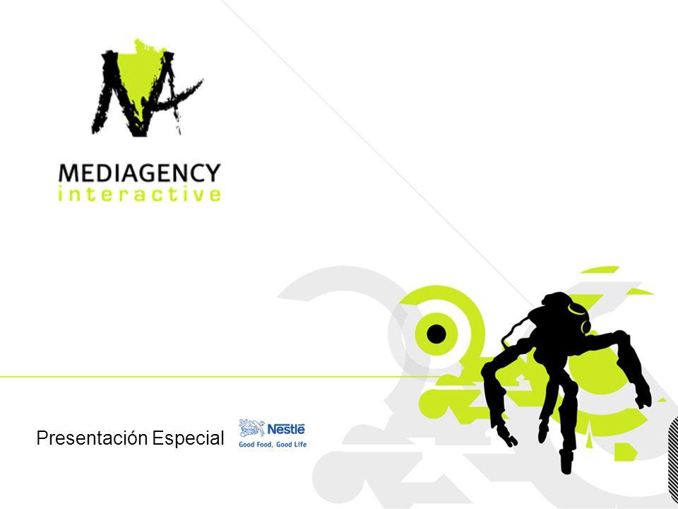 Presentación confidencial prohibido su uso sin autorización de Mediagency® Presentación Especial