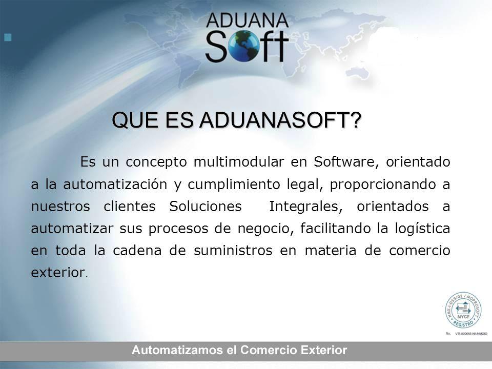 Es un concepto multimodular en Software, orientado a la automatización y cumplimiento legal, proporcionando a nuestros clientes Soluciones Integrales,