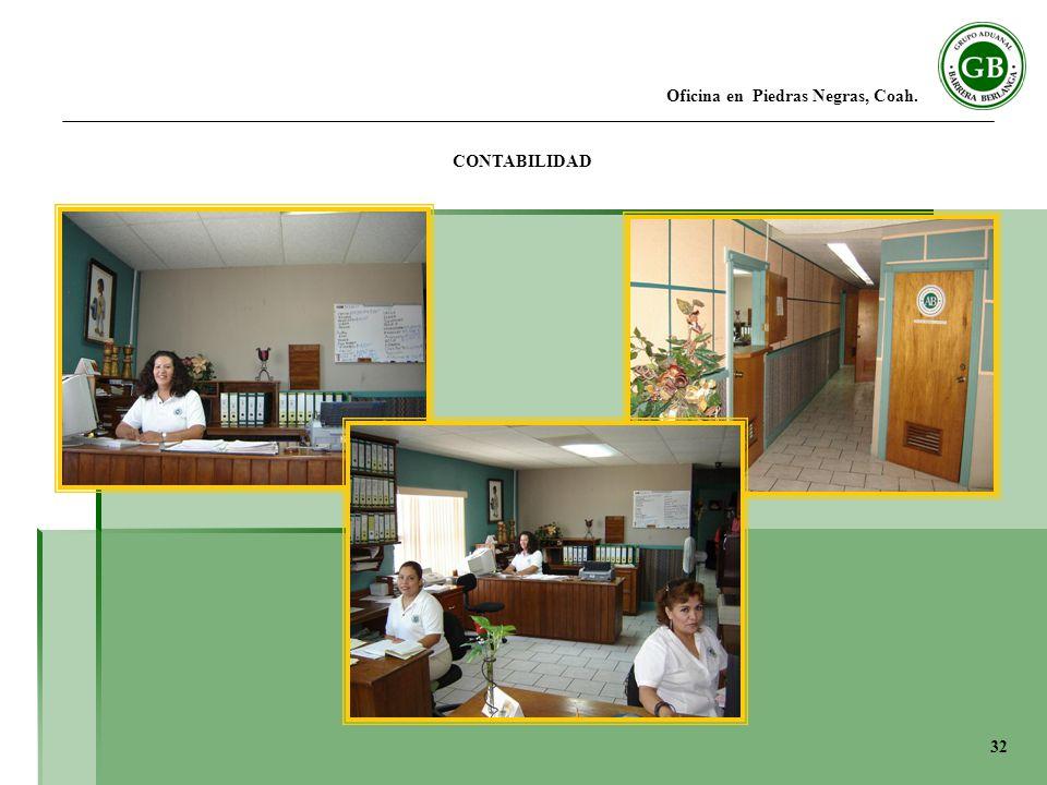 Oficina en Piedras Negras, Coah. CONTABILIDAD 32