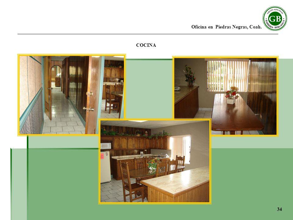 Oficina en Piedras Negras, Coah. COCINA 34