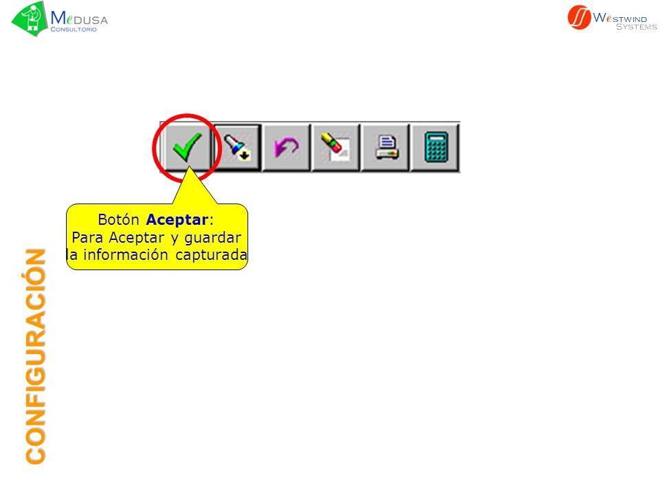 Botón Búsqueda: Despliega el catálogo para seleccionar la ciudad, estado, médico, etc.