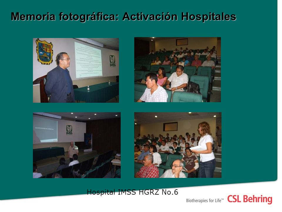 Hospital IMSS HGRZ No.6 Memoria fotográfica: Activación Hospitales