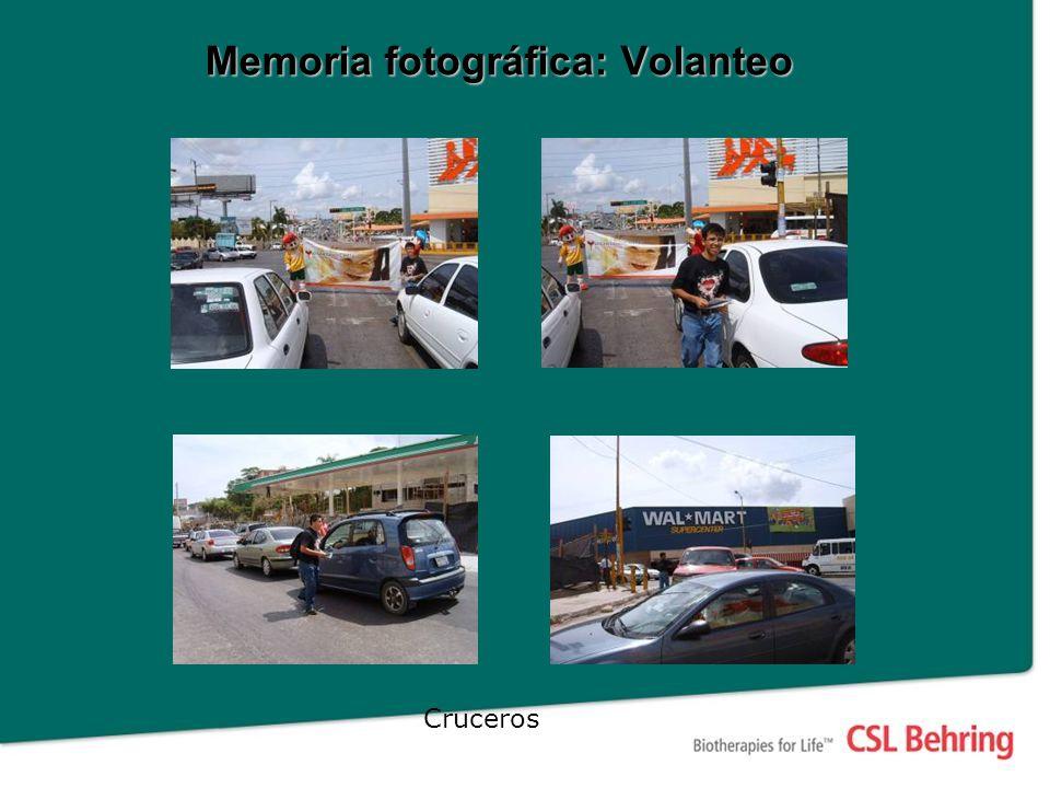 Memoria fotográfica: Volanteo Cruceros