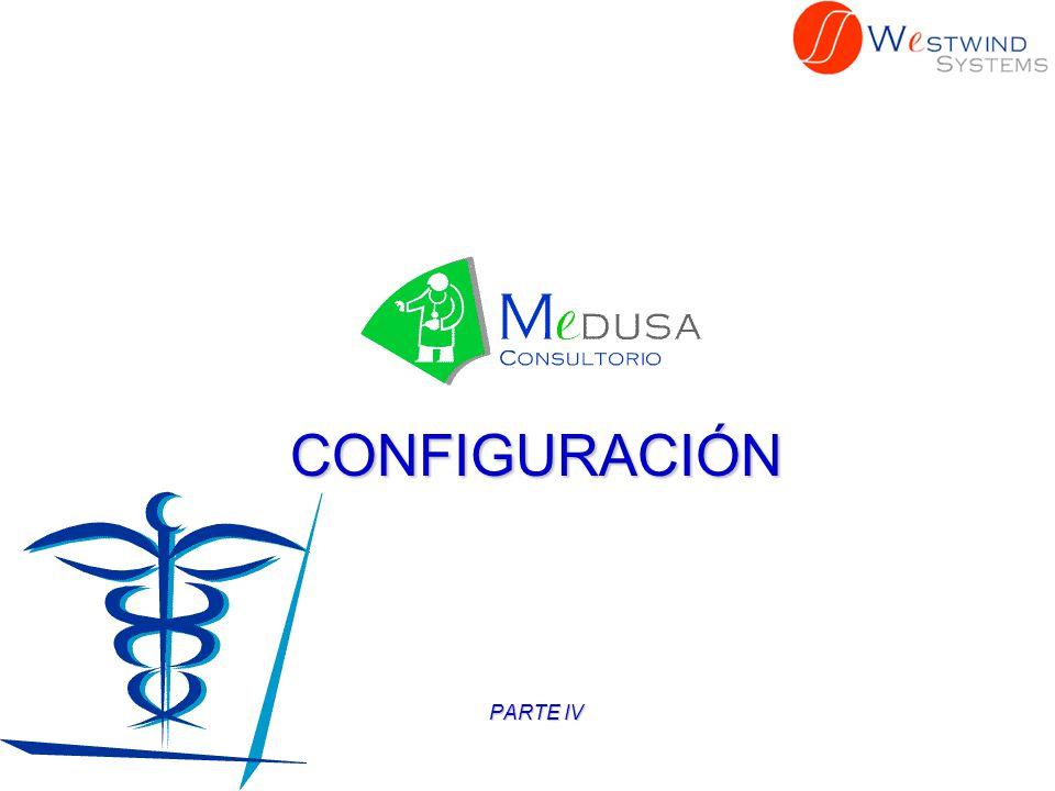 CONFIGURACIÓN Una característica importante de MEDUSA es el uso de Internet para el envío de mensajes.