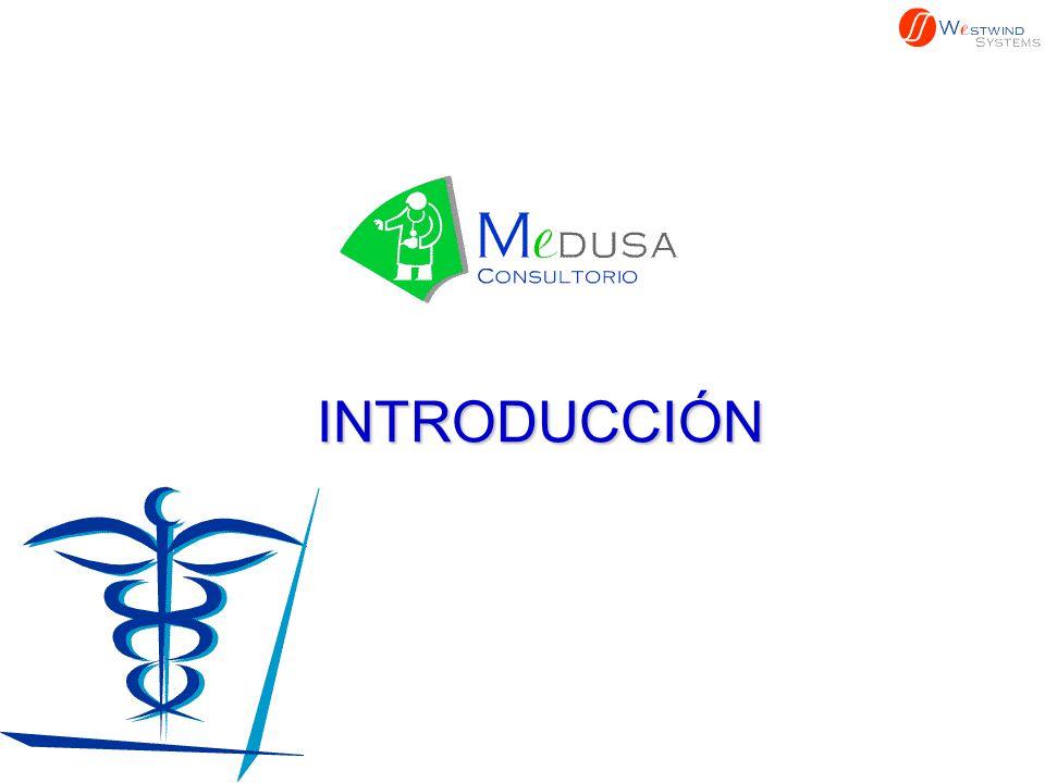 n El n El Sistema MEDUSA-Consultorio MEDUSA-Consultorio fue diseñado pensando en facilitar las actividades del Médico en su consultorio, al permitirle administrar el Expediente de sus Pacientes, controlar las Citas y poder interactuar con el resto de los actores de los Servicios de Salud.