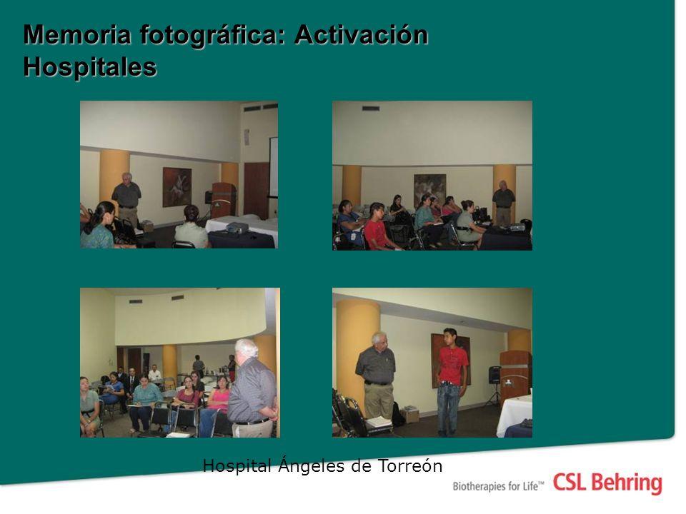Memoria fotográfica: Activación Hospitales Hospital Ángeles de Torreón