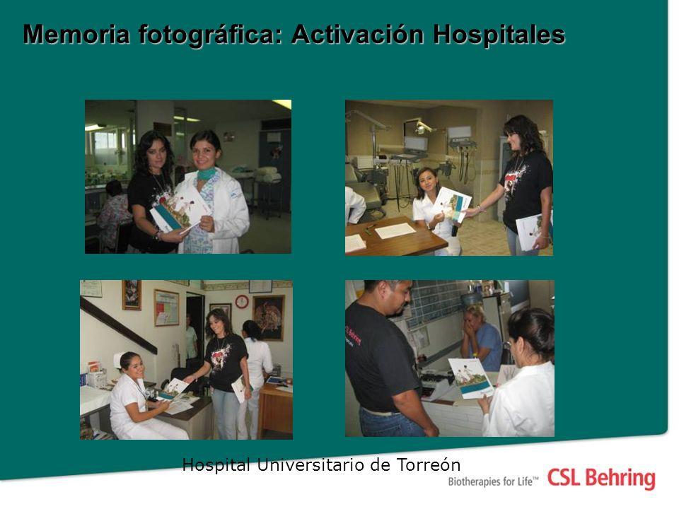 Hospital Universitario de Torreón Memoria fotográfica: Activación Hospitales