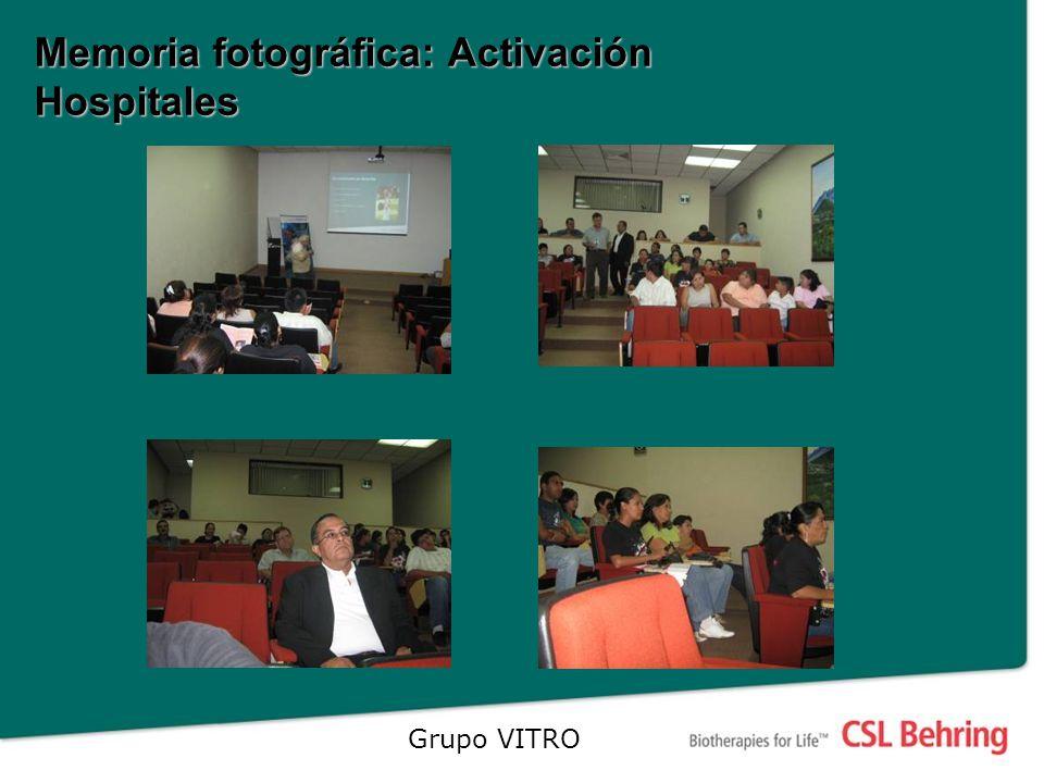 Memoria fotográfica: Activación Hospitales Grupo VITRO