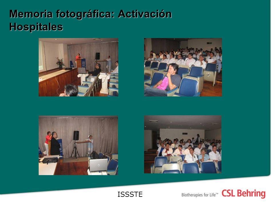 Memoria fotográfica: Activación Hospitales ISSSTE