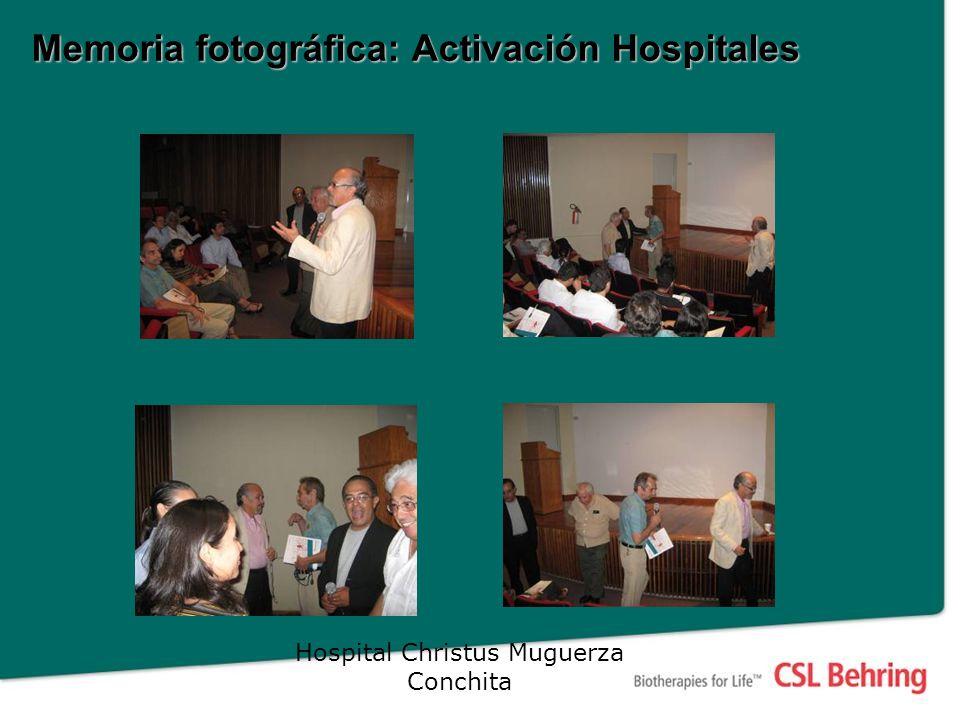 Memoria fotográfica: Activación Hospitales Hospital Christus Muguerza Conchita