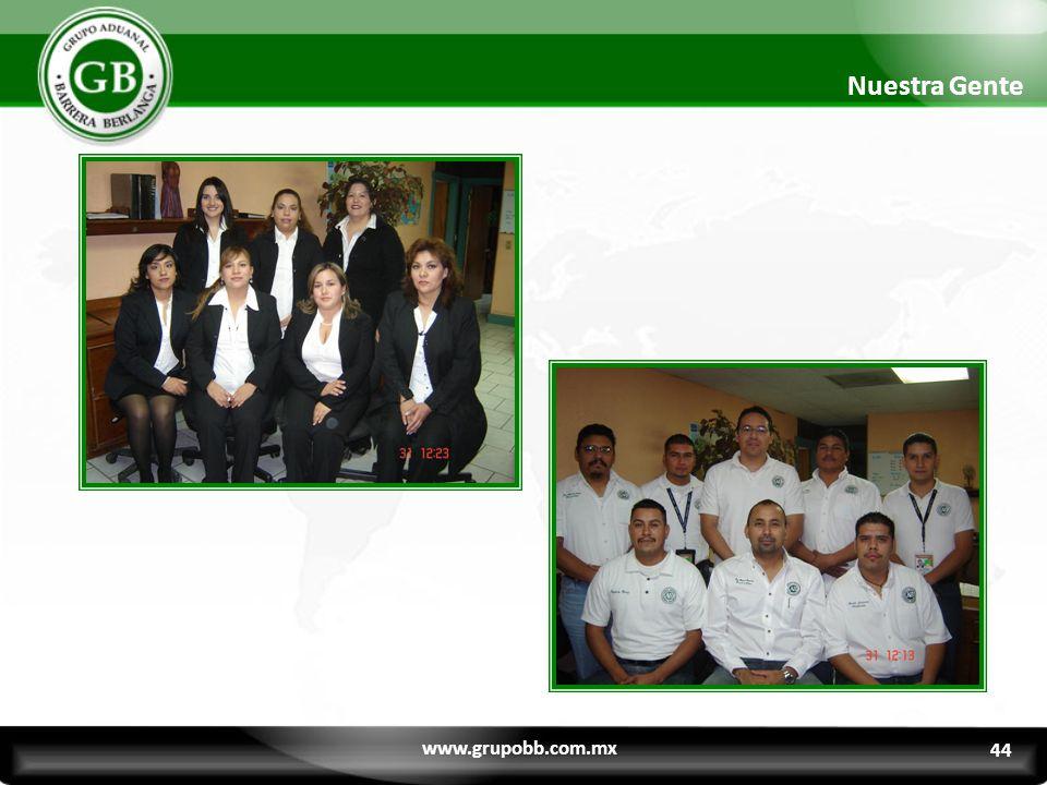 Nuestra Gente www.grupobb.com.mx 44