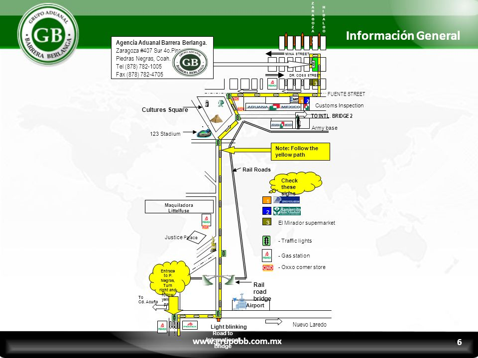 7 Información General www.grupobb.com.mx 7 MAVERICK COUNTY ROAD & BRIDGE DEPT.