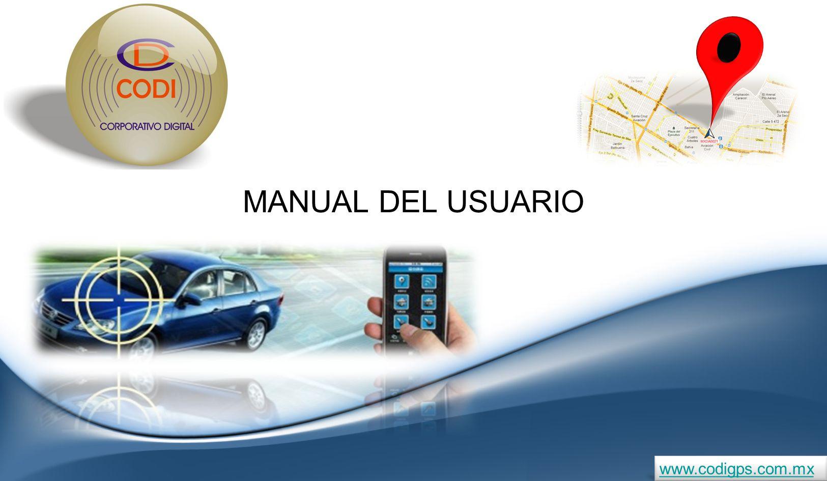 MANUAL DEL USUARIO www.codigps.com.mx
