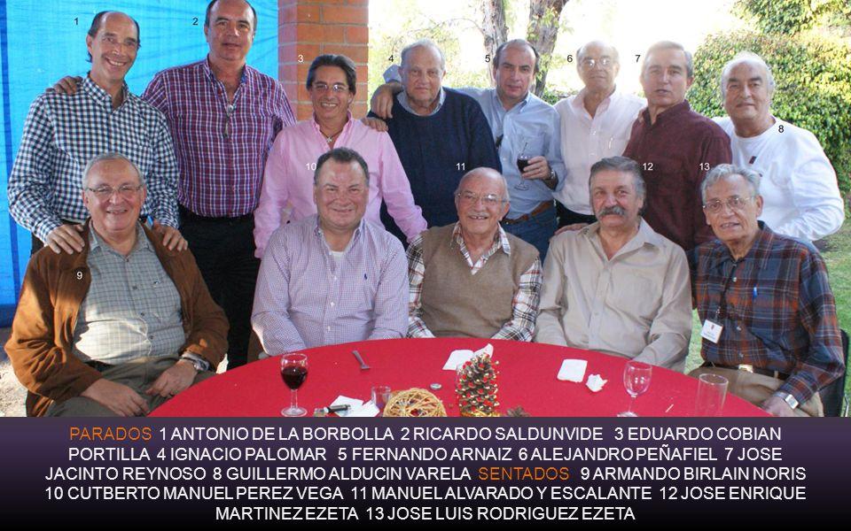 Las Patrias, esposas de los compas, Ex Alumnos del INSTITUTO PATRIA