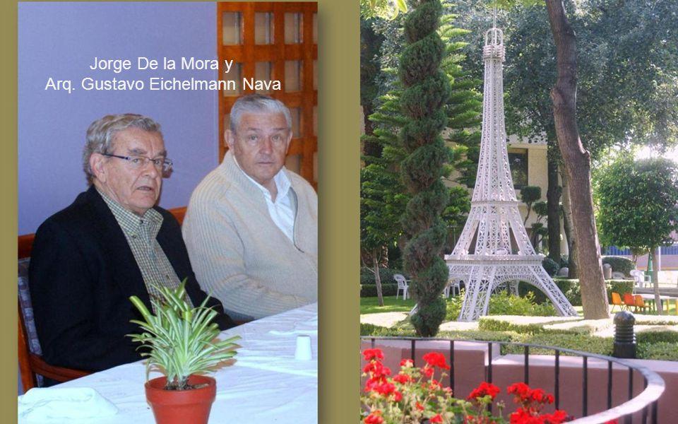 Lic. Luis Graham Soberón, y Gonzalo Moreno Gómez