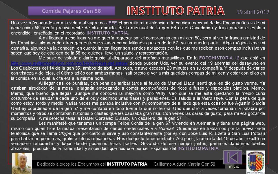HONRADOS CON SU PRESENCIA ROSS GEN57 DEPARTE CON ALDUCIN, LUNA PARRA Y MARISCAL