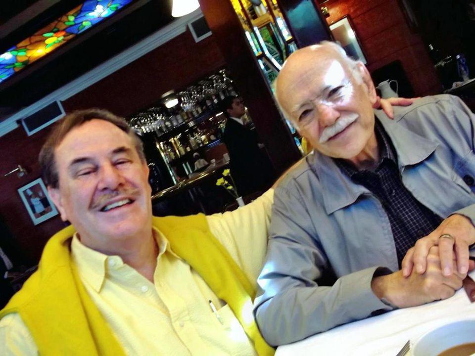 JOSE LUIS VALLARTA Y CARLOS URBINA AMBOS DE LA GEN 55