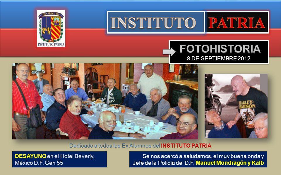 DESAYUNO en el Hotel Beverly, México D.F.