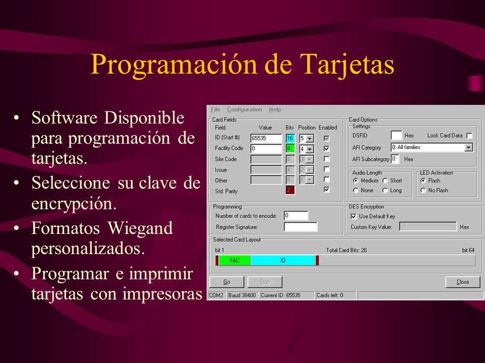 Opciones de Transponder Tarjetas ISO imprimibles. Llaveros compactos.